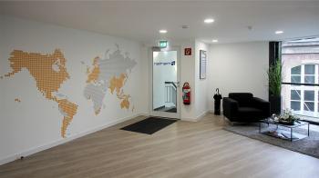 menten GmbH - Eingangsbereich