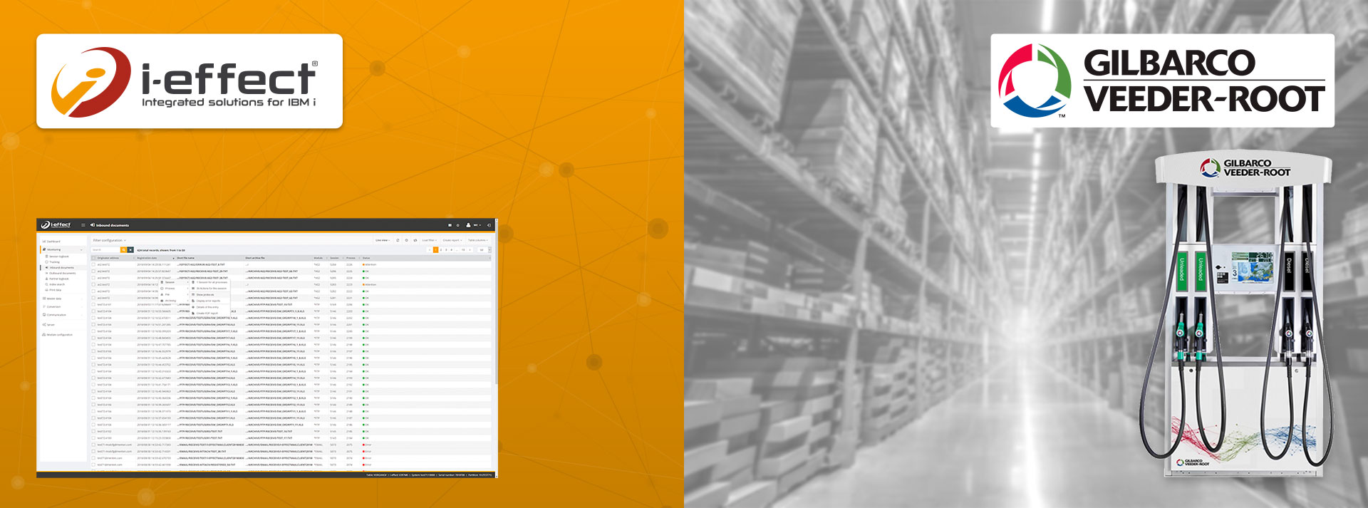 Gilbarco EDI Software Kommunikation ohne Tempolimit