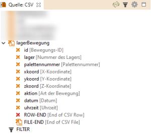 CSV EDI-Mapping Beschreibung