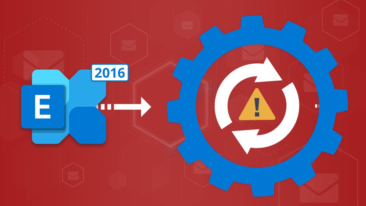 Fehler bei Updates eines Exchange-Servers 2016 auf CU20 (Event Code: 3008)