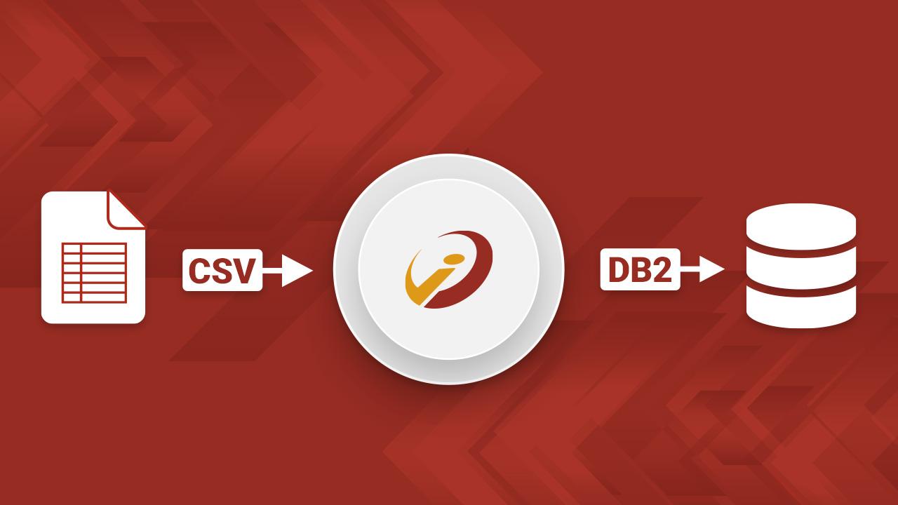 Wie Sie CSV-Dateien mit i‑effect<sup>®</sup> in eine DB2-Datenbank konvertieren