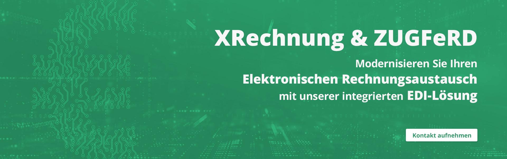 i-effect: E-invoicing mit XRechnung und ZUGFeRD