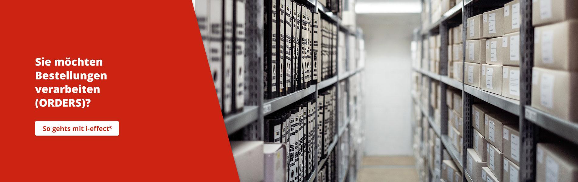 EDI Orders IBM AS400 i‑effect<sup>®</sup>