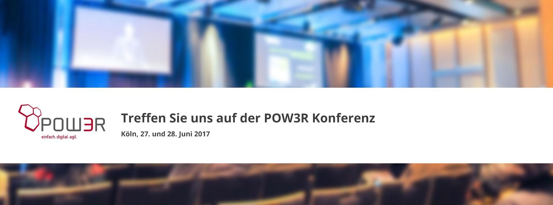 POW3R Konferenz Koeln 2017