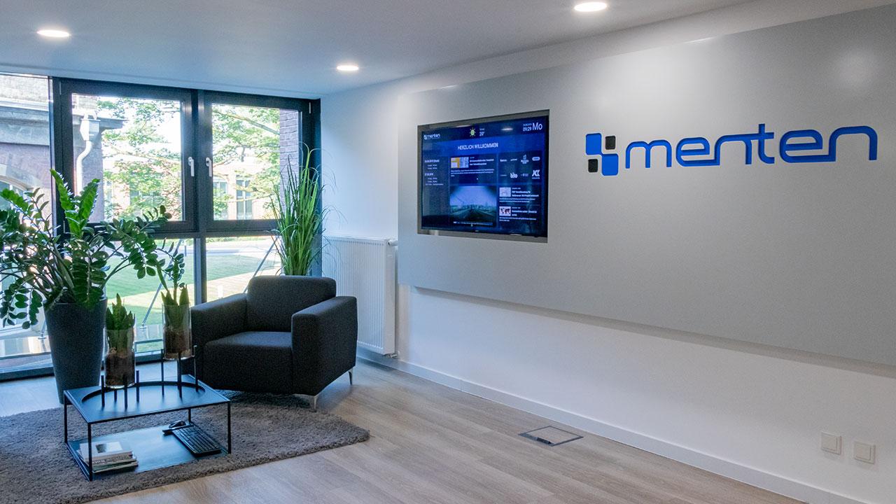 menten GmbH Büro Eingangs- und Wartebereich
