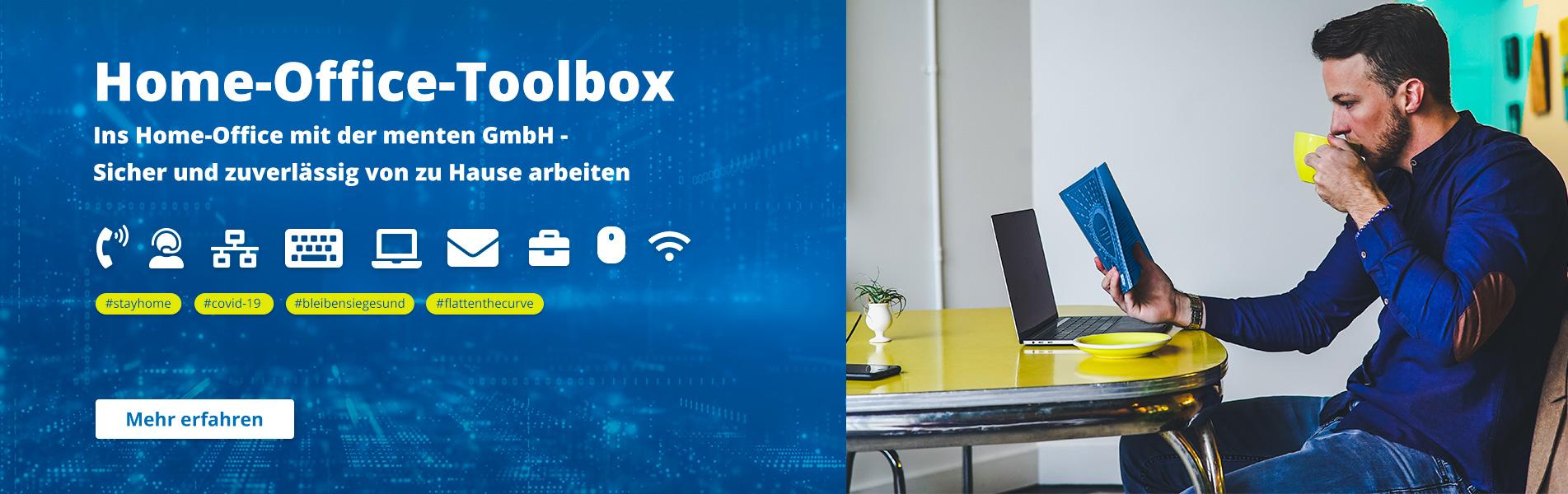 Mit menten GmbH ins Home Office