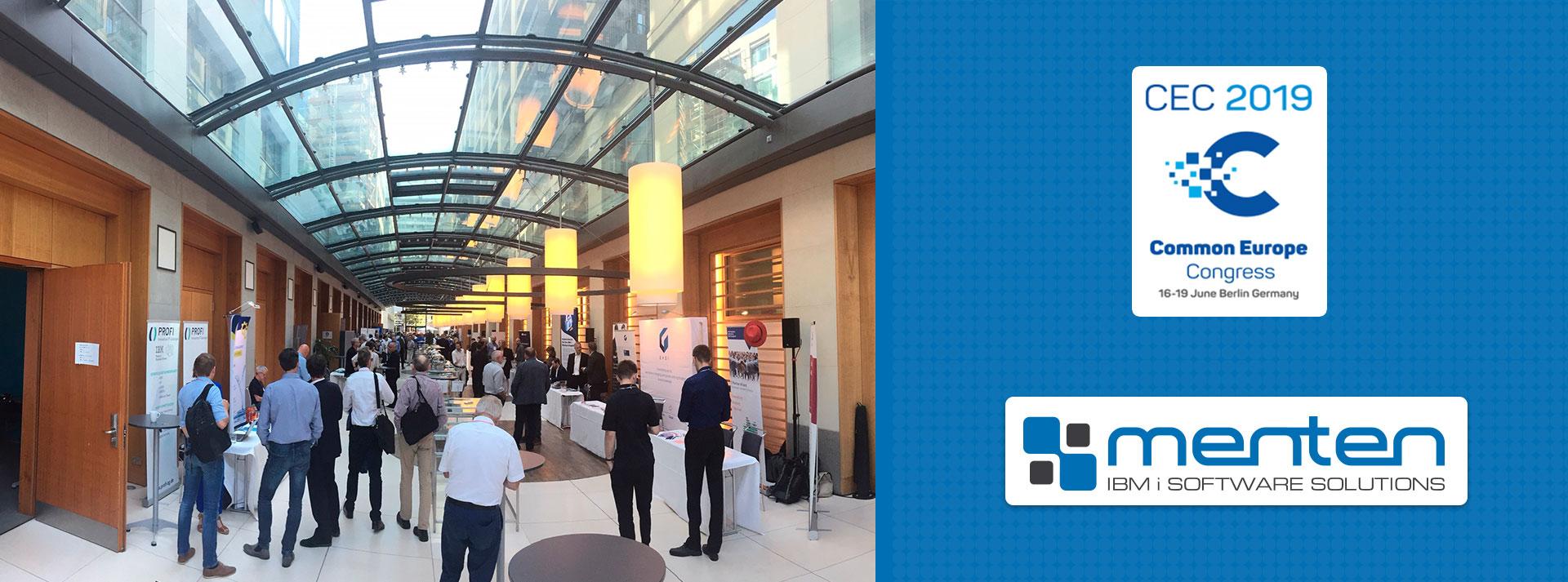 menten beim Common Europe Congress 2019 in Berlin