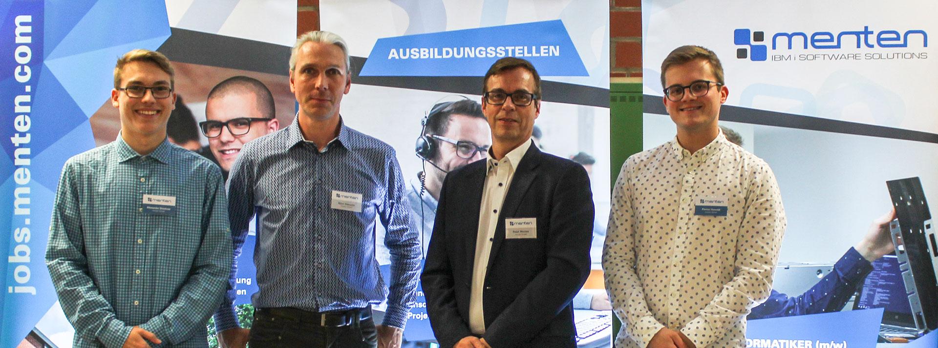 menten GmbH auf der Berufemesse 4Starters 2018