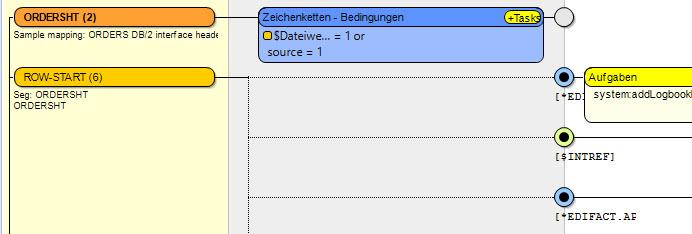 Modulkonstanten für Absender (Werte aus dem Partnerstamm) EDI-Mapping