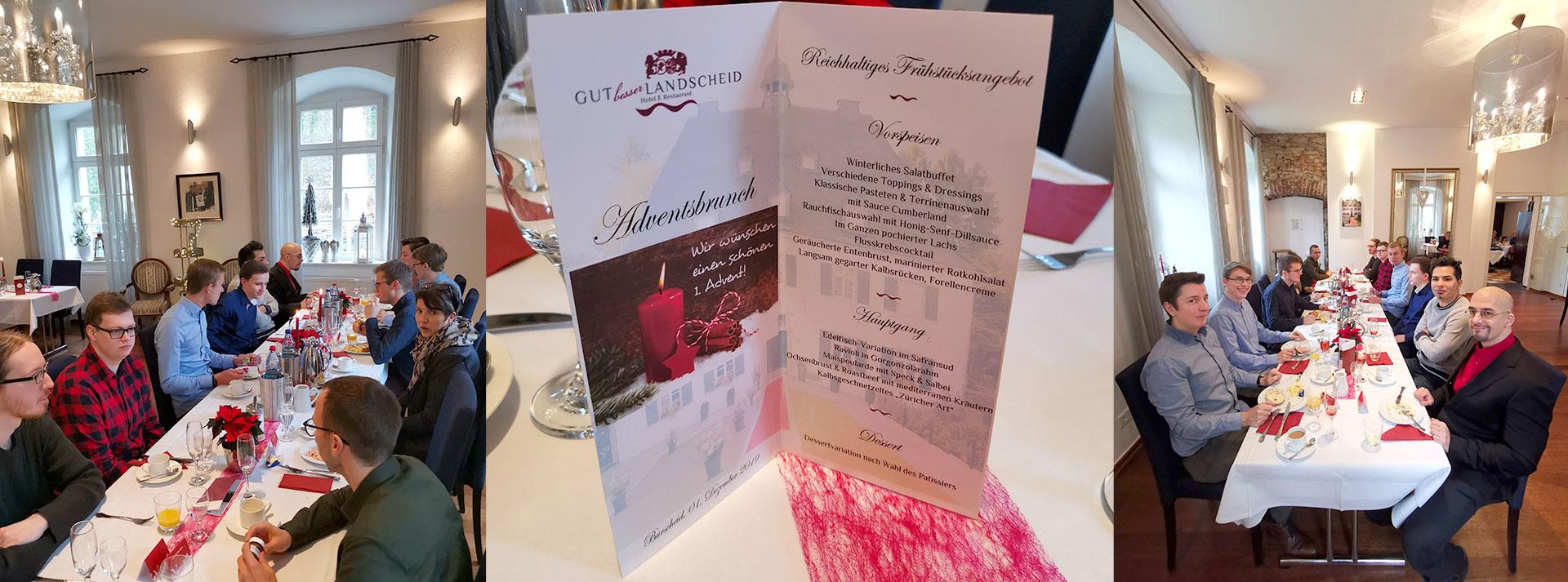 menten GmbH Weihnachtsfeier 2019