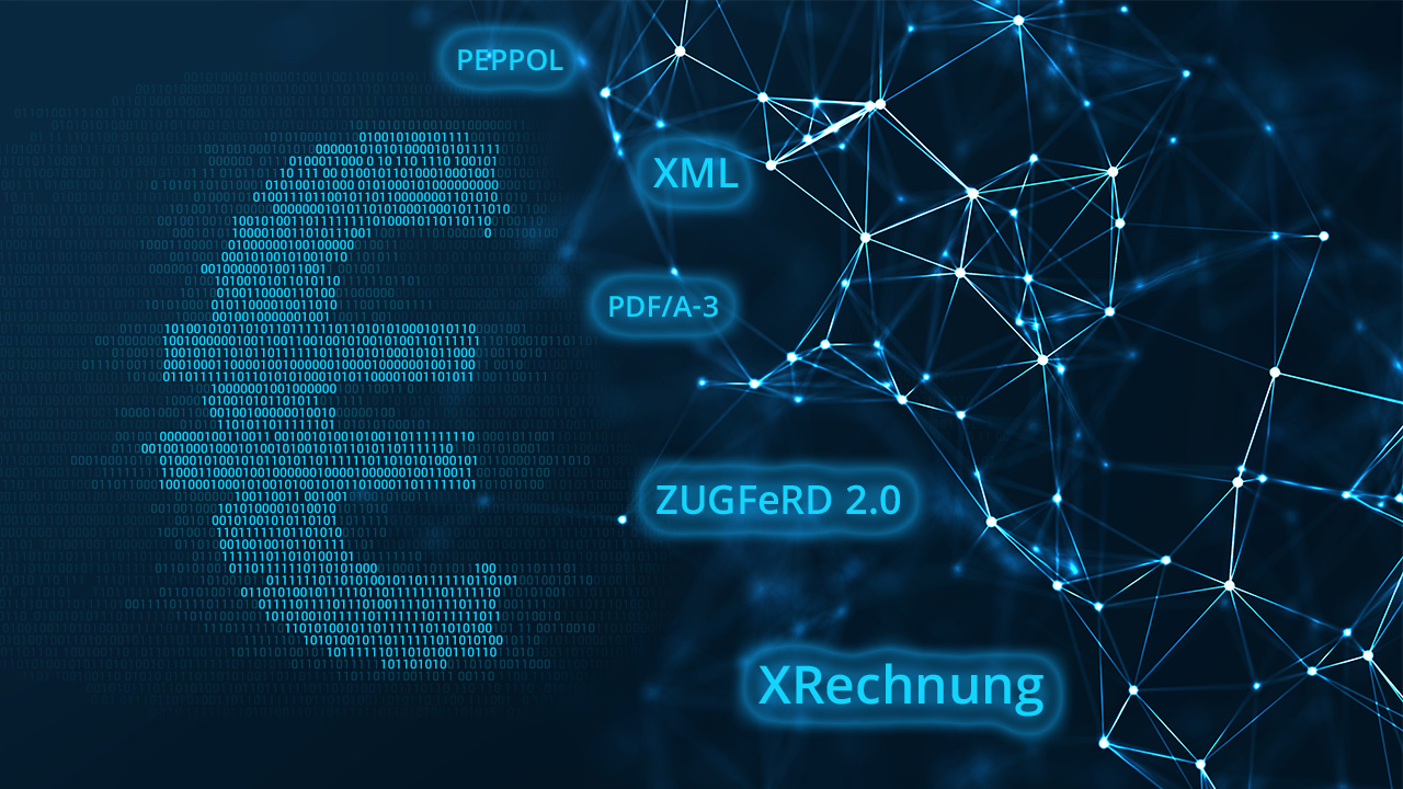 Mit der XRechnung und ZUGFeRD für das E-Invoicing gerüstet