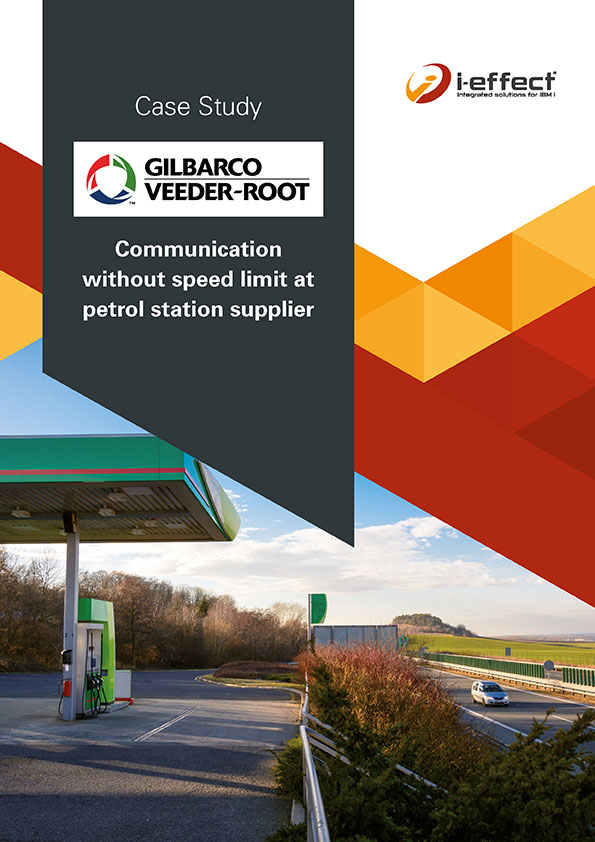 EDI Case Study Gilbarco Communication without speed limit at the gas station supplier