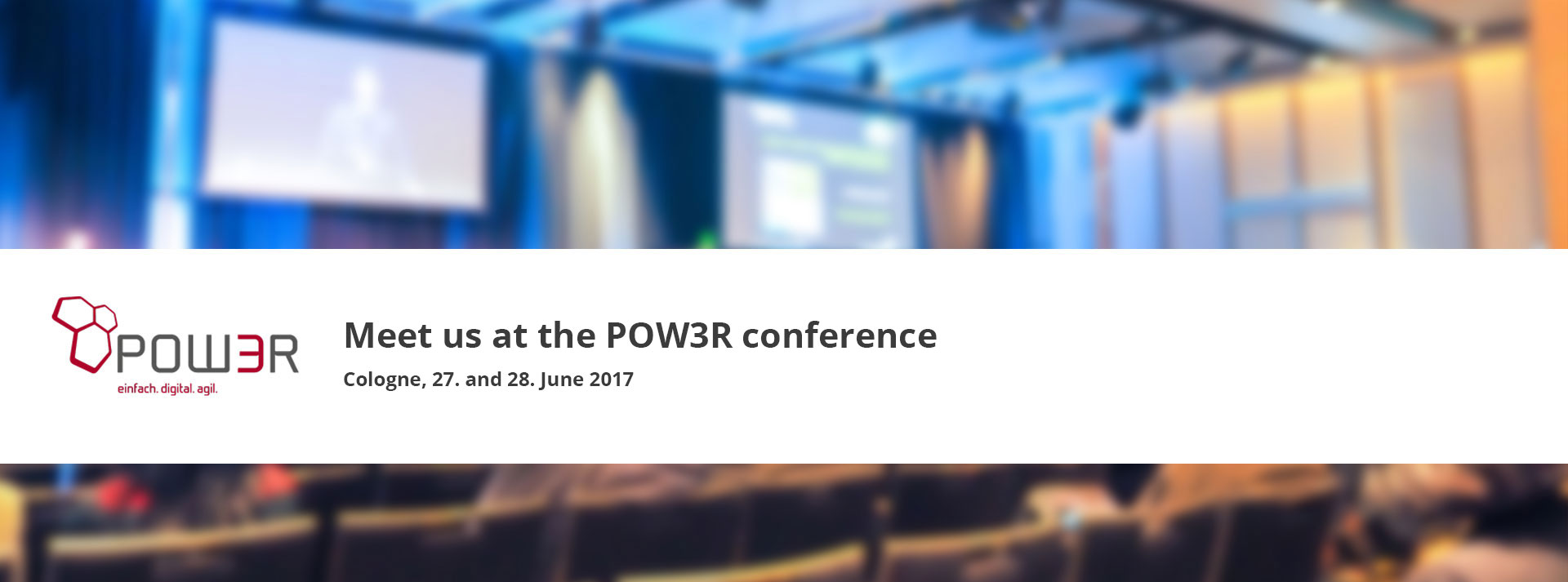 POW3R Conference Cologne 2017